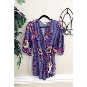 🌿 Umgee • Lavender Spring Floral Romper 🌿